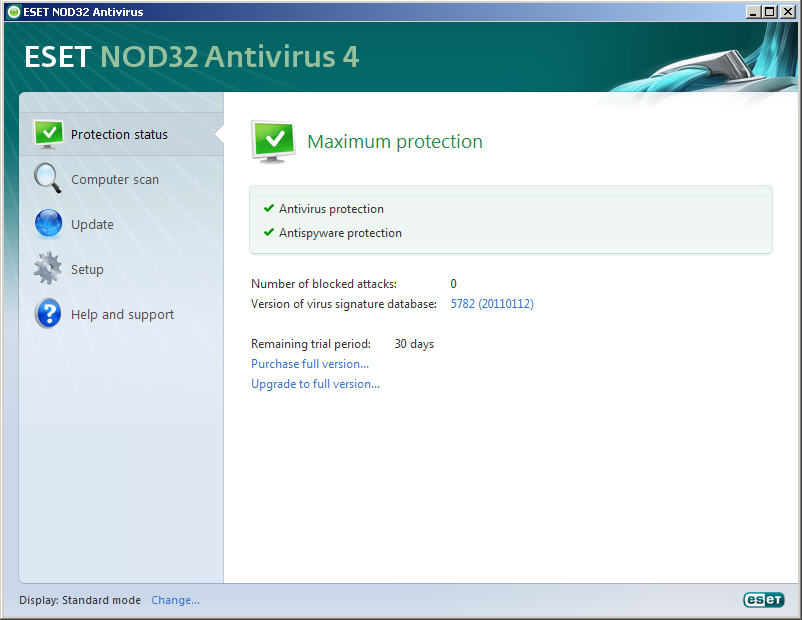 ESET NOD32 Multiple OS