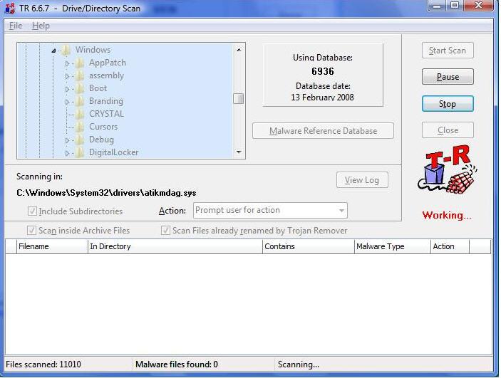 Trojan Remover 6 8 6 Screenshots