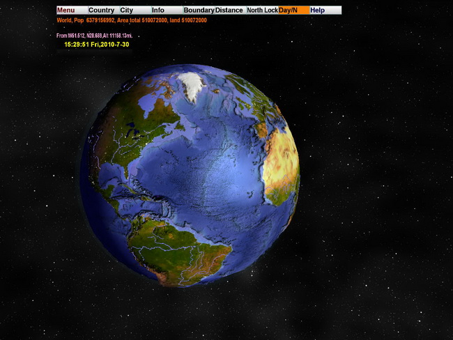 World Map 3d. (3D World Map Screenshots 7893