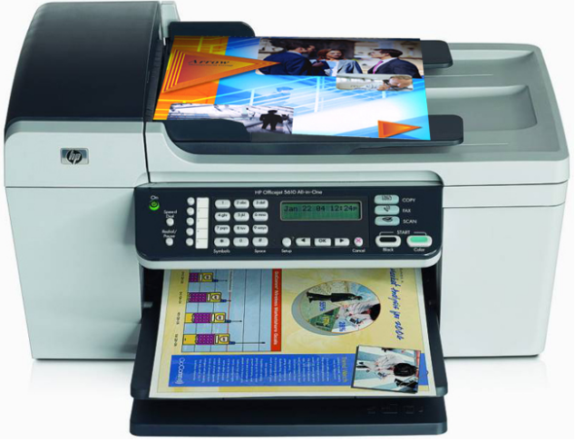 HP Officejet 5610 All in One Driver
