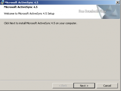 Microsoft ActiveSync 1