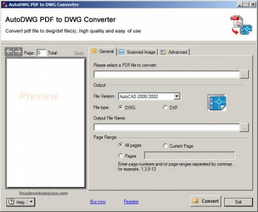 Autodwg PDF To DWG Converter 2