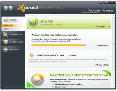 avast! Free Antivirus 1