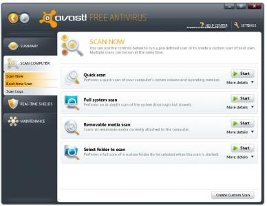 avast! Free Antivirus 2
