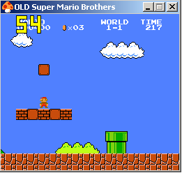 Old Super Mario Bros. 1