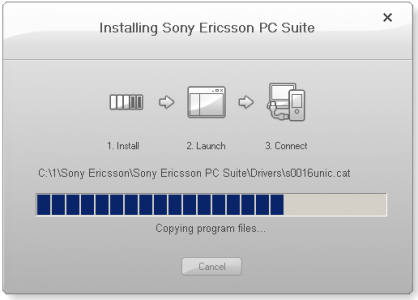 Sony Ericsson PC Suite 1